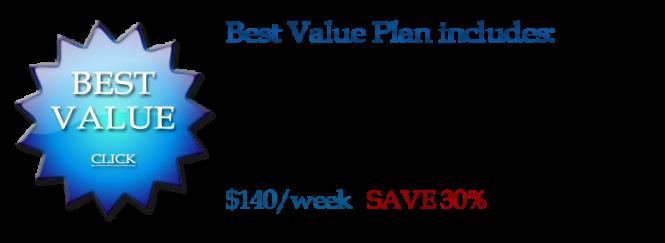 Best value pricing
